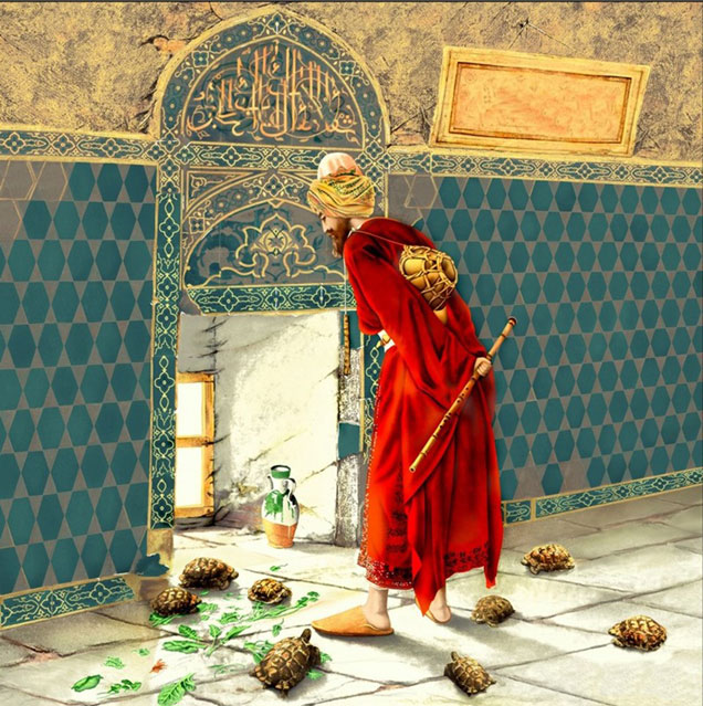 Osman Hamdi Bey Tablolarının Anatomisi çözülüyor Gazetesu