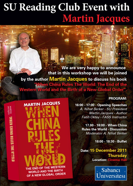 a book review on martin jacques' Speaking at a ted salon in london, martin jacques asks: how do we  book  when china rules the world martin jacques penguin (2012.