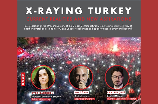 """X-Raying Turkey: Current Realities and New Aspirations"" Paneli"