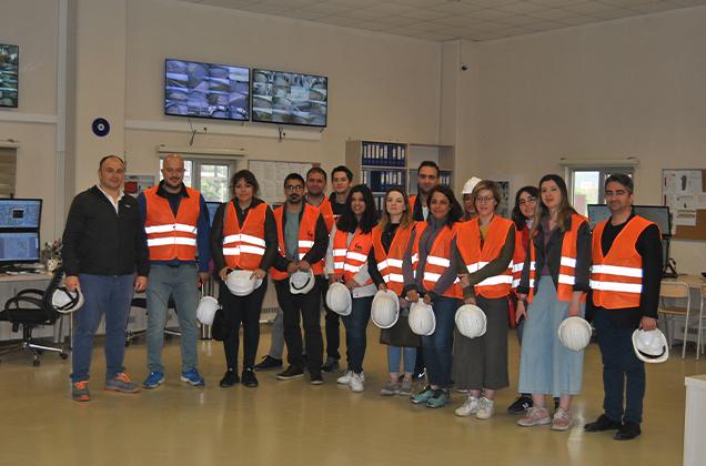 Sabancı Üniversitesi Enerji Teknolojileri ve Yönetimi (ETM) Profesyonellere Yönelik Yüksek Lisans Programı Saha Gezisi