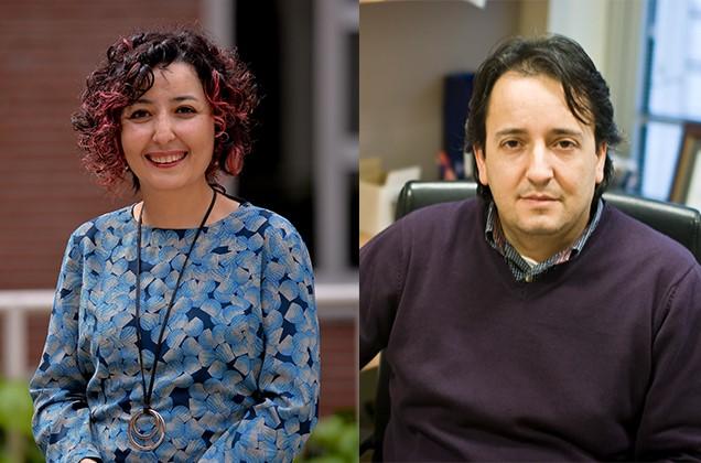 MDBF Öğretim Üyeleri Özgür Gürbüz ve İbrahim Tekin