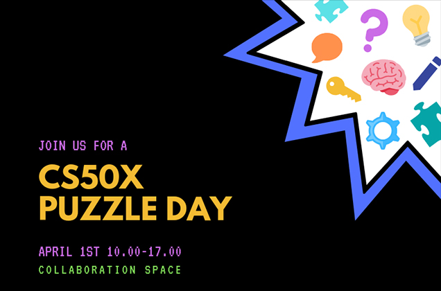 Collaboration Space CS50x Puzzle Day